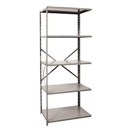a451018-mediumduty-open-shelving-adder-unit-w-5-shelves-36-w-x-18-d