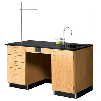 1214k-r-instructors-desk-w-sink-cabinet-on-right-side-60-x-30-solid-phenolic-top