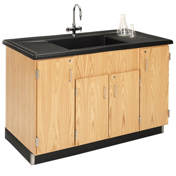 3303K STATIONARY CLEAN UP SINK WITH POLYOLEFIN TOP