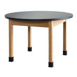 Diverisifed Woodcrafts Round Science Lab Tables