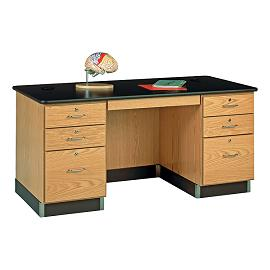 1131K Teachers Work Desk 60 x 30 HighPressure Laminate Top