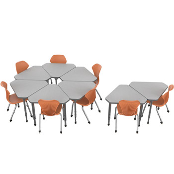 classroom-set-8-single-apex-gem-desks-pumpkin-spice-chairs-by-marco-group