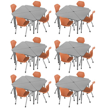 38372-24-apex-triangle-desks-24-stack-chairs-18-pumpkin-spice-closeout
