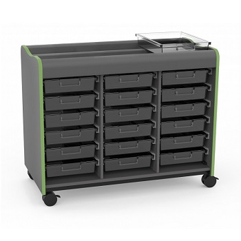 39-11003-0-xxm-makerspace-mobile-storage-cart-18-trays-no-doors