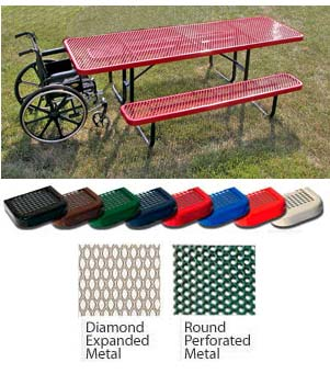 158hv8-wheel-chair-accessible-8-rectangular-expanded-metal-outdoor-picnic-table