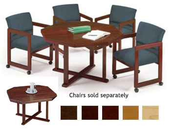 All Octagonal Conference Tables By Lesro Options Tables Worthington Direct