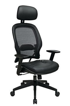 57906e-professional-airgrid-chair-w-leather-seat-and-headrest