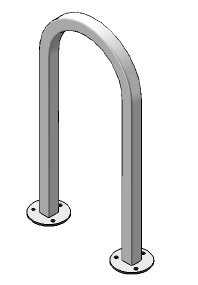 5821-standard-inverted-bike-rack-single