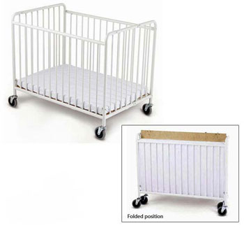 30ccw4-white-finish-clearview-both-ends-deluxe-drop-side-crib-with-adj-rest-surface1