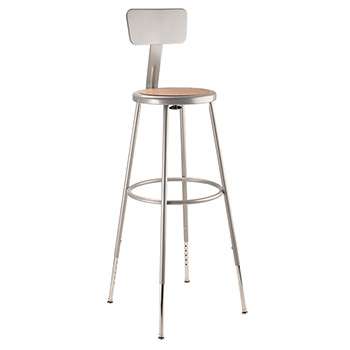 6230hb-3139h-metallic-gray-adjustable-height-steel-stool-with-backrest