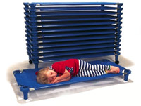 fully-assembled-solid-blue-cots-and-dollies-by-mahar