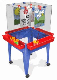 s13824-21wx21dx44h-blue-frame-four-station-easel-without-megatray