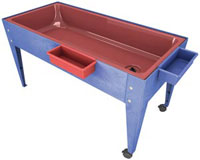 s6224-24h-red-liner-sand-and-water-activity-center-wlid-and-2-casters