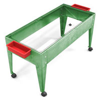 s9424-24h-6d-clear-liner-sand-and-water-activity-center-wlid-and-4-casters