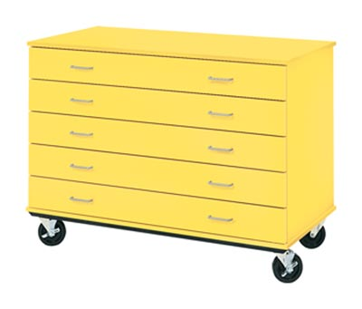 80393-mobile-five-drawer-storage-unit