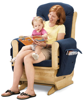 8150jc-glider-rocker-chair-natural-w-blue-cushions