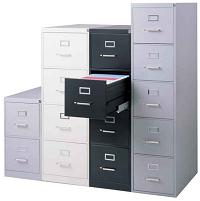 Hon 310 Series Vertical File Cabinet 2 Drawer Legal 26 12 D
