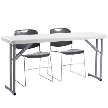 8602-2-bt1860-x-plastic-resin-seminar-folding-table-with-two-stacking-chairs