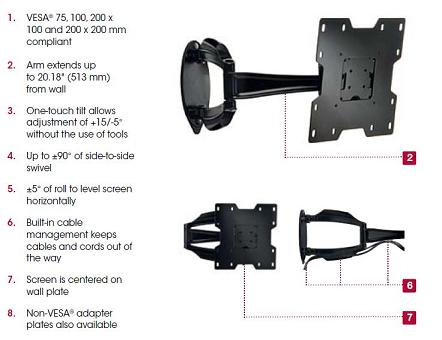 sa740p-articulating-wall-arm-for-22-40-lcd-screens