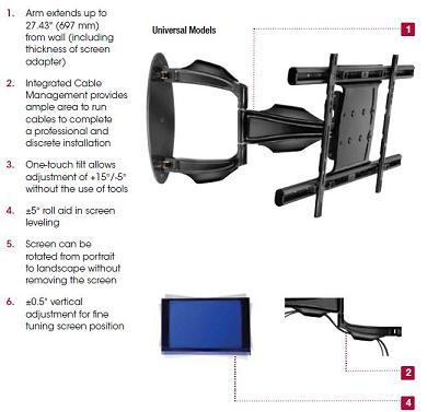 sa752pu-articulating-wall-arm-for-32-52-flat-panel-screens