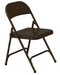 162-mocha-brown-folding-chair