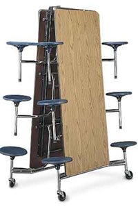 mts17291012-10x30x29h-17h-stools-12-seats-med-oak-top-chrome-frame-mobile-table