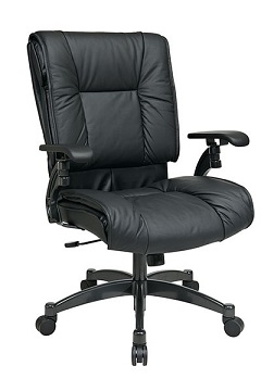 9333e-black-eco-leather-conference-chair