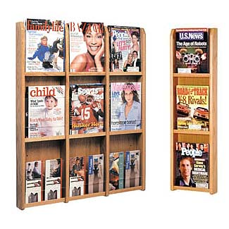 oak-and-acrylic-literature-wall-racks-wooden-mallet