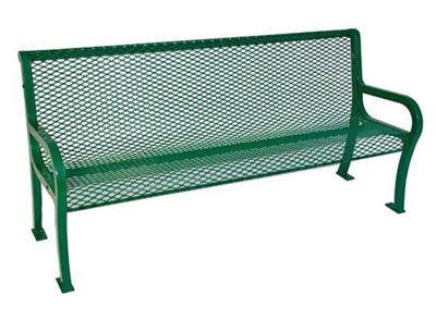Ultraplay Lexington Outdoor Benches With Backs
