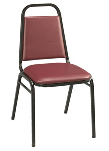810-vinyl-1-dome-seat-stack-chair-with-black-frame