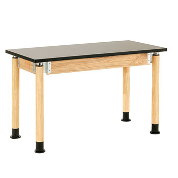 pslt2460ah-adjustable-height-science-table-with-phenolic-top-60-x-24