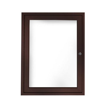 aluminum-frame-indoor-enclosed-whiteboard-36h-x-30w-1-door-bronze