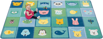 1854-animal-patchwork-kidsoft-rug-4x6-rectangle-soft-colors