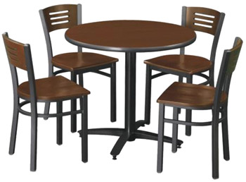 arched-base-cafe-table-with-four-3315b-cafe-chairs-by-kfi