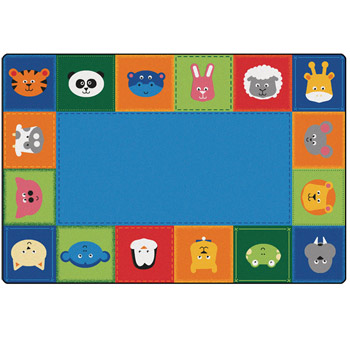 2554-baby-animals-border-kidsoft-rug-4x6-primary-color-rectangle