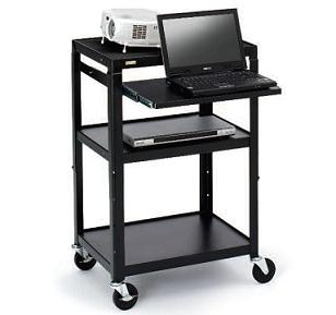 a2642nse-adjustable-projector-cart-w-electrical-wo-cabinet