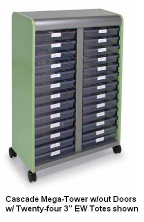 cascade-series-mobile-tote-tray-mega-tower-by-smith-system
