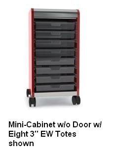 30332-cascade-mobile-tote-tray-mini-cabinet-w-door-eight-3-ew-totes