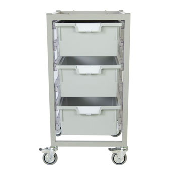 antimicrobial-nimble-cart-3-double-depth-trays-light-gray