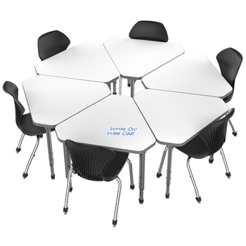 classroom-set-6-single-apex-gem-dry-erase-desks-chairs-by-marco-group