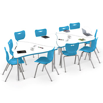 1633k1mrkr45331810-triangle-creator-table-hierarchy-chair-package-ten-18-chairs-four-dry-erase-table