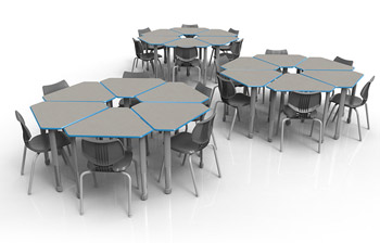 classroom-set-18-diamond-desks-flavors-chairs-by-smith-system