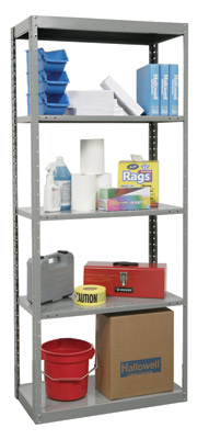 Hallowell Dura Tech 5 Shelf Steel Shelving