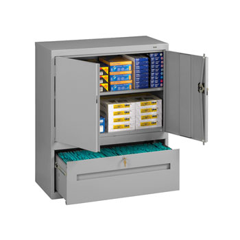 dwr-4218-x-welded-storage-cabinet-with-file-drawer-36-x-18-x-42