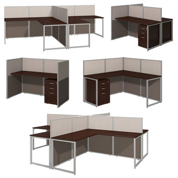 Office cubicle desk Partition Easy Office Cubicle Stations By Bush Business Furniture Muveappco All Easy Office Easy Office Cubicle Stations By Bush Business