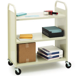 f336-book-truck-w-three-flat-shelves