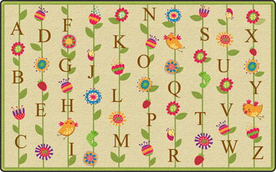 fe274-22a-blooming-alphabet-carpet-rectangle-4-x-6-tan