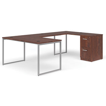 ful-pkg-0078-fulcrum-u-shaped-desk-with-bridge-credenza-and-pedestal-filing-cabinet-66-desk