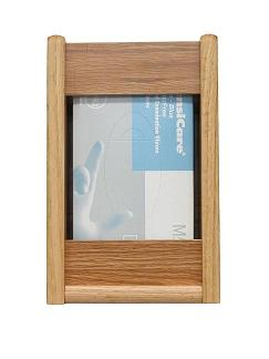gbs11-1-1-glove-box-or-tissue-box-oak-wall-rack-rectangle-opening