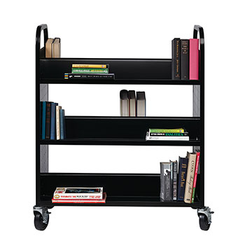 book-cart-double-sided